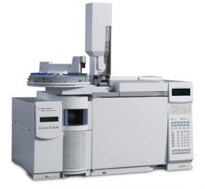 Хроматомасс-спектрометр в комплекте с системой подключения к термомикровесам NETZSCH модели TG 209 F1